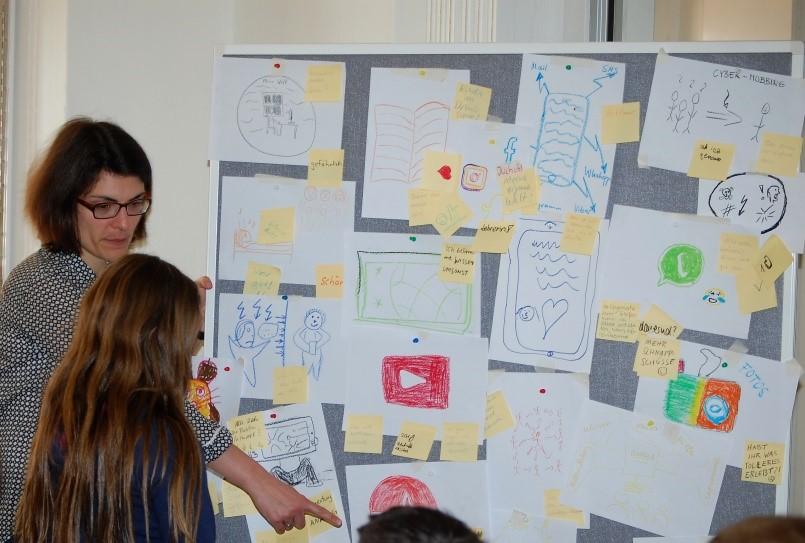 Brainstorming Familie digital: Was mögen wir an der digitalen Welt und was nicht?
